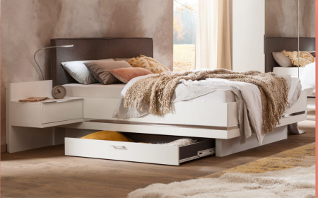 Nolte Mobel - Concept me 500 - 5970980 Bed Frame with Storage Compartment