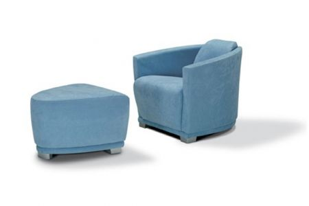 Calia Italia Jolly Armchair and Foot Stool