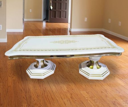 Ben Company Betty White Gold Coffee Table