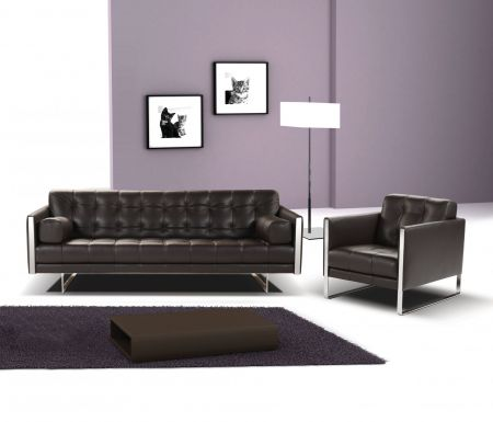 Calia Italia Juliet Leather Sofa