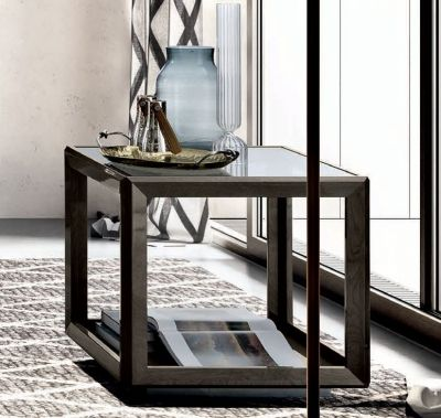Camel Group Platinum Silver Birch Lamp Table