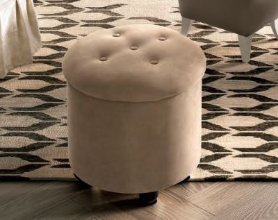 Camel Group Giotto Round Pouff