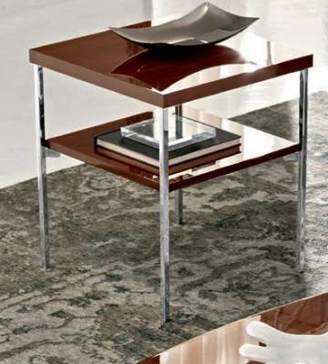 Camel Group Roma Walnut High Gloss Lamp Table