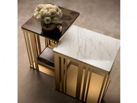 Arredoclassic Adora Atmosfera Lamp Table with Marble top