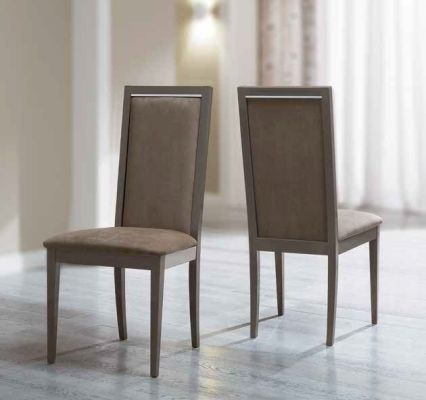 Camel Group Elite Silver Birch Finish Roma Liscia Dining Chair