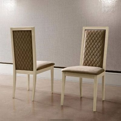 Camel Group Ambra Finish Roma Rombi Dining Chair