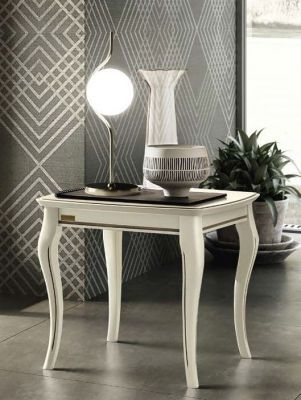 Camel Group Giotto Bianco Antico Lamp Table