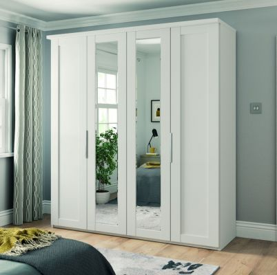 Wiemann Cambridge Wardrobe With 1 Mirror Door