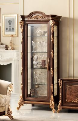 Arredoclassic Sinfonia 1 Door Display Cabinet