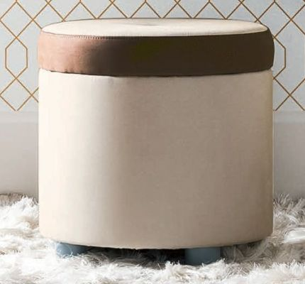 Camel Group Altea Vanity Dresser Pouf