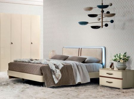 Camel Group Altea Letto Ivory Finish Bed Frame