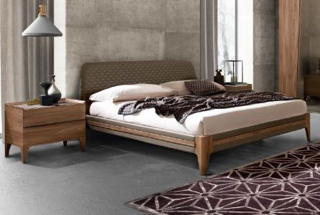 Camel Group Akademy Bed Frame with Eco Leather Ring