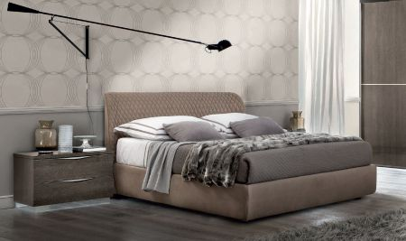 Camel Group Letto Kleo Platinum Night Italian Bed Frame