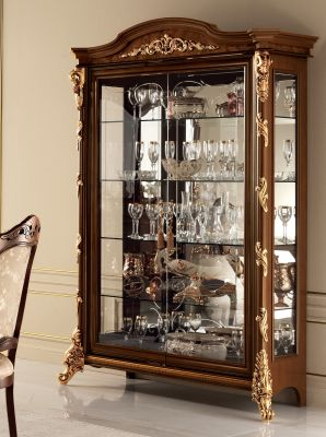 Arredoclassic Sinfonia 2 Door Display Cabinet