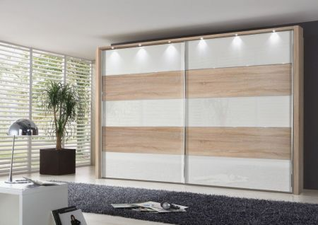 Weimann Hollywood 4 Sliding-door wardrobes with rows 1,3 and 5 highlighted