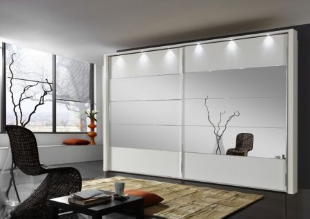 Weimann Hollywood 4 Sliding-door wardrobes with rows 2,3 and 4 highlighted