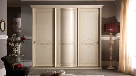 Tuttomobili Primula Curved Door Sliding Wardrobe