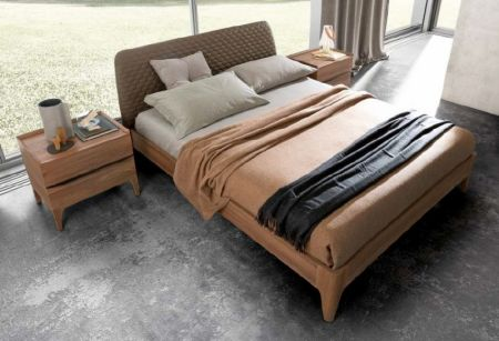 Camel Group Akademy Bed Frame With Wooden Ring