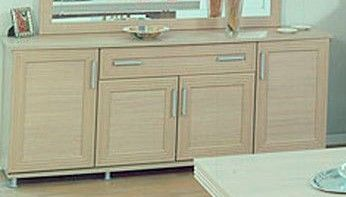 Ben Company Sonia Light Oak 4 Door Buffet