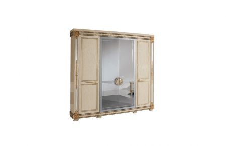 Arredoclassic Liberty 4 Door Wardrobe
