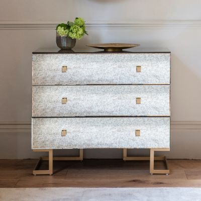 Hudson Living Amberley 3 Drawer Wide Chest