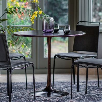 Hudson Living Kinnitty Round Dining Table
