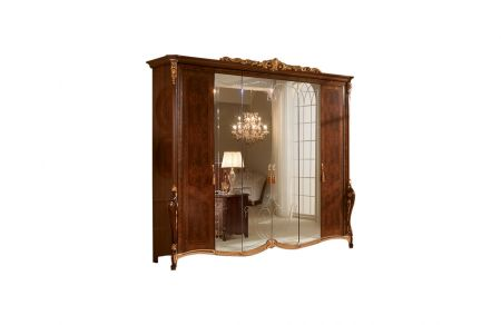 Arredoclassic Donatello 6 Door Wardrobe