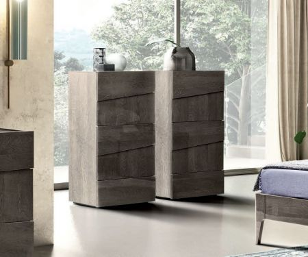 Camel Tekno Night Tallboy Chest with 5 Drawer