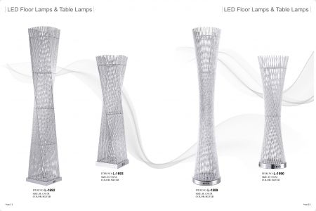 Floor Lamp & Table Lamp