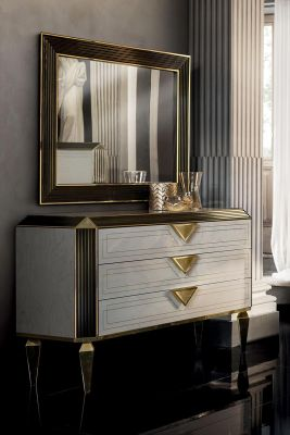 Adora Arredoclassic Diamante 3 Drawer Dresser