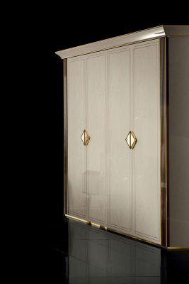 Adora Arredoclassic Diamante 4 Door Wardrobe