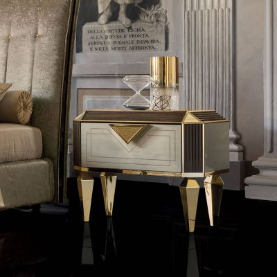 Adora Arredoclassic Diamante Night Table
