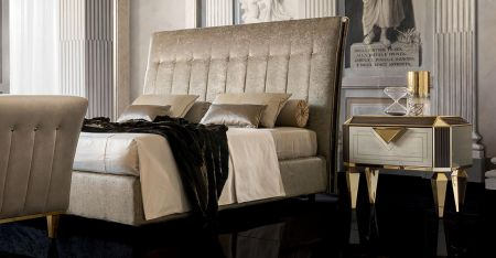 Adora Arredoclassic Diamante Upholstered Bed