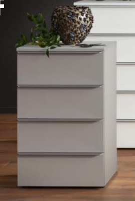 Nolte Mobel - Akaro 4375400 - Bedside Chest With 4 Drawers