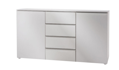 Nolte Mobel - Akaro 4826900 - Chest With 2 Doors 4 Drawers and 2 Shelves