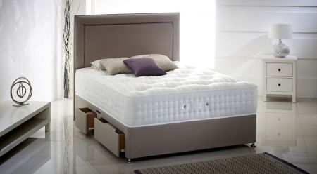 Apsley Ortho 1500 Series KineTech Mattress - Natural Tufted Damask Cover