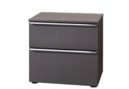 Nolte Mobel - Akaro 4159700 - Bedside Chest With 2 Drawers