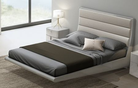Mila Cashmere High Gloss Bed