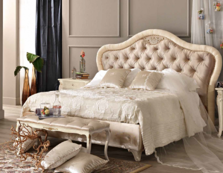 Saltarelli Alba Upholstered Bed Without Storage