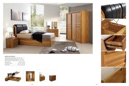 Modern Bedroom Group With Storage Bed