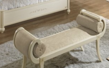 Camel Group Siena Ivory Small Bench