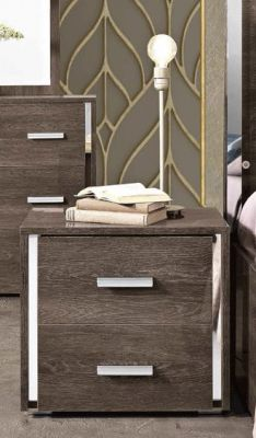 MCS Dover Brown Bedside Table