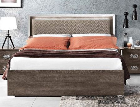 MCS Dover Brown Bed