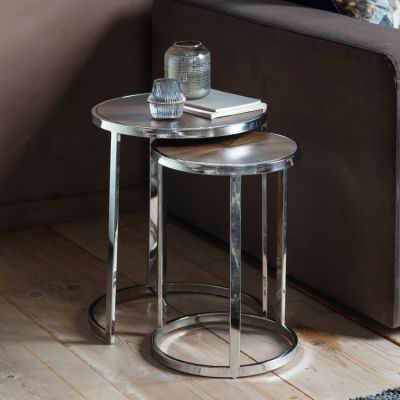 Hudson Living Calcot Nest of 2 Tables