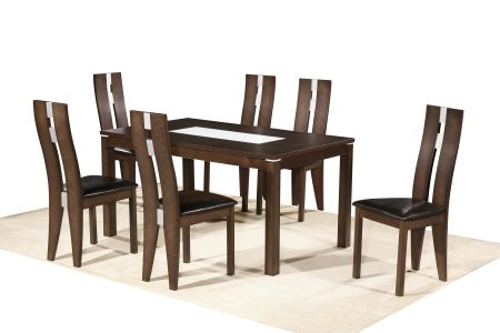 California Dining Set With Six Chairs