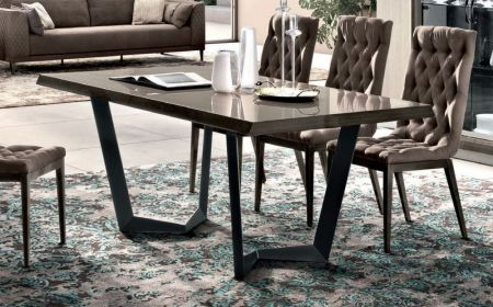 Camel Elite Day Noce Patrizio Dining table 200 cm with 1/ext. 45 cm