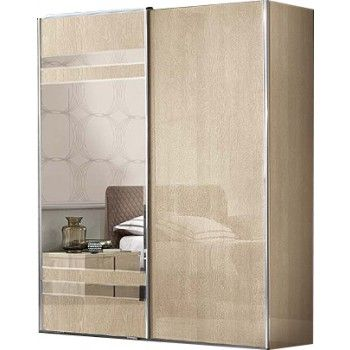 Camel Group Ambra Sand Birch Finish Sliding Wardrobe