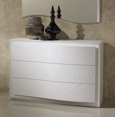 Tuttomobili Chanel White Chest Of Drawers