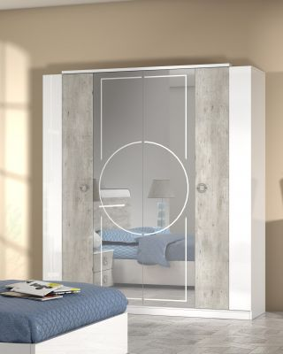 San Martino Chantal 4 Door Wardrobe