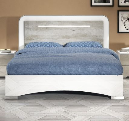 San Martino Chantal Bed With LED Light